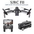 SJRC F11 gps 5G Wi-Fi FPV с 1080P камерой бесщеточный Квадрокоптер 25 минут время полета жестом складной рычаг селфи Дрон на ру VS CG033