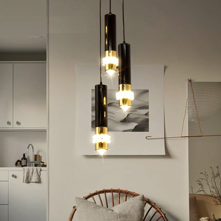Fashion Creative Modern Droplight LED Crystal Pendant Light Fixtures For Living Dining Room Hanging Lamp Home Lighting fashion guitar led droplight modern lustre crystal pendant light fixtures for living dining room hanging lamp home lighting