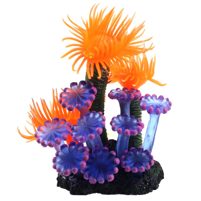 Fisch Aquarium Dekorationen Hause Weichen Künstliche Harz Korallen Aquarium Aquarium Schöne Dekoration Aromatischer Geschmack