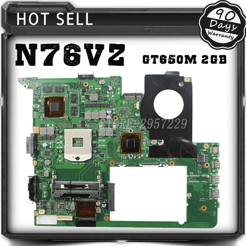 Laptop Motherboard For ASUS N76VJ N76VB N76VZ N76VM N76V withREV:2.22GB USB3.0 N13P-GT-A2 GT650M fully tested & working perfect кастрюля эм гурман 2 1л стек крыш 1239493 page 8