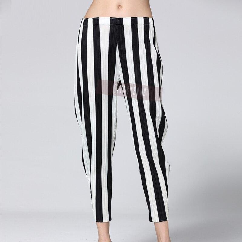 Miyak Pantalones Las Gran De 2019 Chart See Rábano Cintura Diseño Marea Mujeres Elástica Primavera La Tamaño Changpleat Falda Moda Suelta q01twI8I