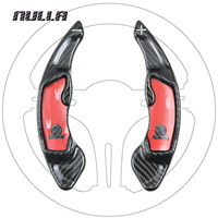 NULLA Carbon Fiber Steering Wheel Shift Paddle Extension Shifter For Subaru XV Legacy Outback Forester Impreza BRZ Scion GT86