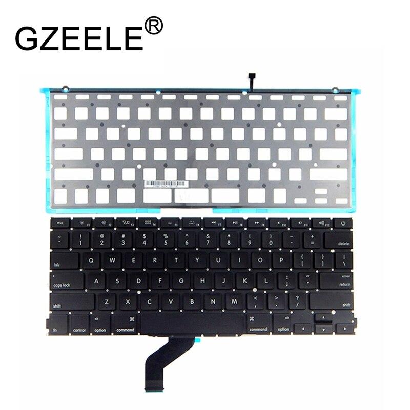GZEELE New Backlit Laptop Keyboard For Apple MacBook Pro Retina 13