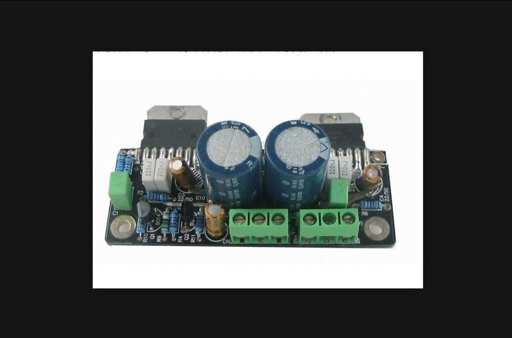 TDA7294 IC Amplifier Board Single Board Dual-Channel tda7294 lm3886 5 1 channel pure power amp board