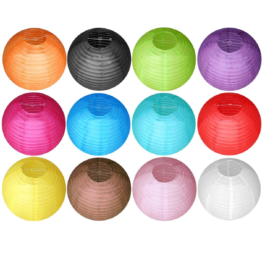 20 50cm Traditional Chinese Round Paper Lanterns For Wedding Birthday Party Decorations Supply Lamp Paper Ball