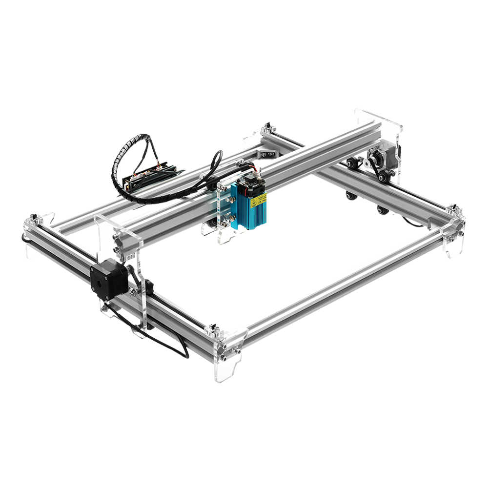 Eleksmaker Brand New Elekslaser A3 Pro 500mw Desktop Usb Laser Engraving Carving Machine Engraver Carver Diy Laser Printer Wood Routers Aliexpress