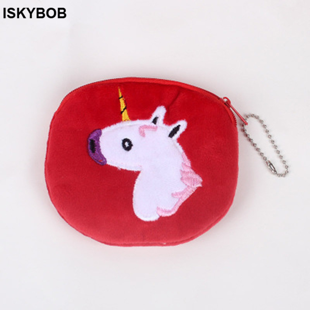 Brand new and full Cotton Cute Animal Prints Coin Purse Girls Small Mini Coin Purse Change Wallet Purse Children Kids Gifts