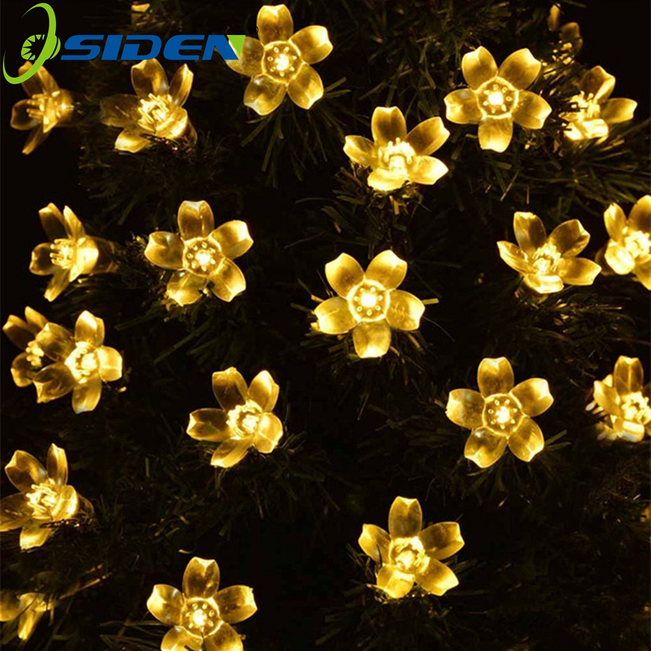 OSIDEN LED Fairy Blossom Flower Garden Lights 10M 100Led  For Outdoor, Home, Lawn, Wedding, Patio, Party and Holiday Decorations