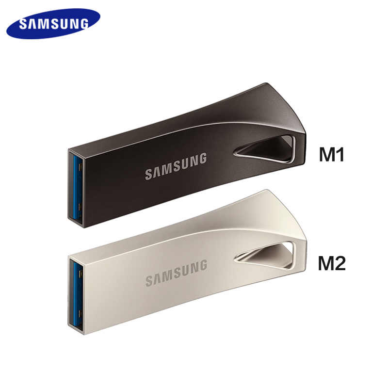 SAMSUNG USB 3,1 USB Flash Drive 32GB 64GB 200 MB/S 128GB 256GB 300 MB/S Metal Pen Drive BAR Pendrive Dispositivo de almacenamiento