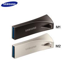 SAMSUNG USB 3.1 USB Flash sürücü 32GB 64GB 200 MB/s 128GB 256GB 400 MB/s Metal kalem sürücü çubuğu artı Pendrive depolama aygıtı