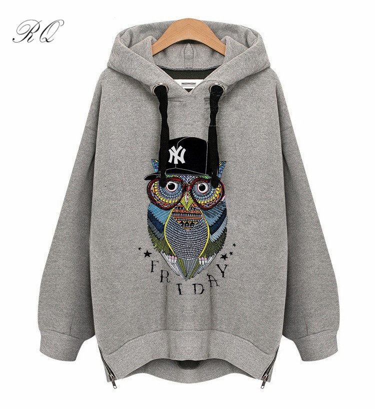 Plus size Autumn winter Maternity Hoodies sweatshirts font b animal b font print Pregnant Women irregular