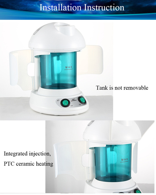 Face Hair Steamer Humidifier For Facial Sauna Hot Mist Moisturizing Clear Blackheads Acne Removal Skin Care Face Atomizer