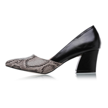 LALA IKAI Plus 10 11 Size Snakeskin Pattern Women Pumps Sexy Pointed Toe High Heels Shoes Woman Zapatos Mujer Tacon 600C0486-5