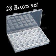 Набор органайзеров для украшений «сделай сам» 28 ячеек