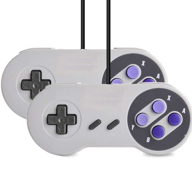 Mini HD HDMI TV Console de jeu vidéo portable rétro famille Console de jeu intégré 821 classique pour les jeux SNES double manette PAL & NTSC - 6