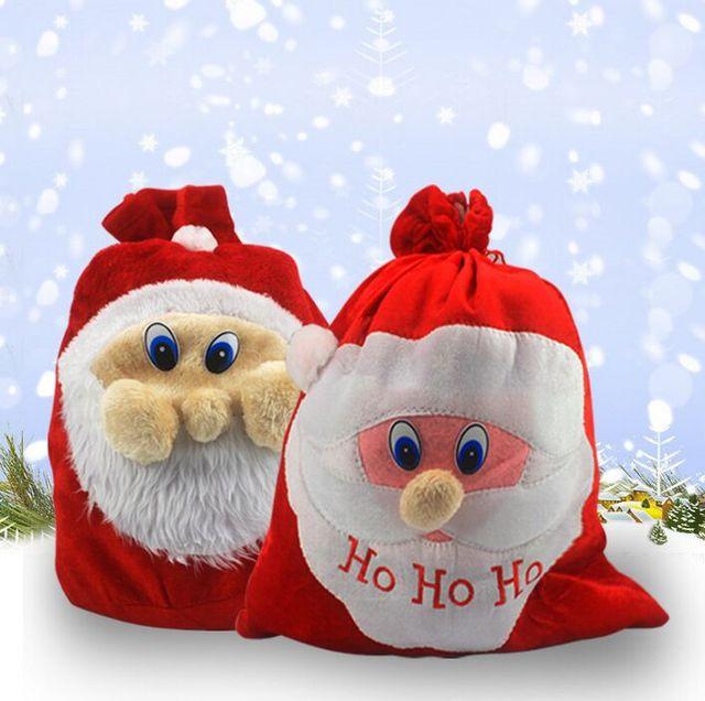 New Year Cloth Christmas Gift bags Big Bag Santa High Quality Gift ...