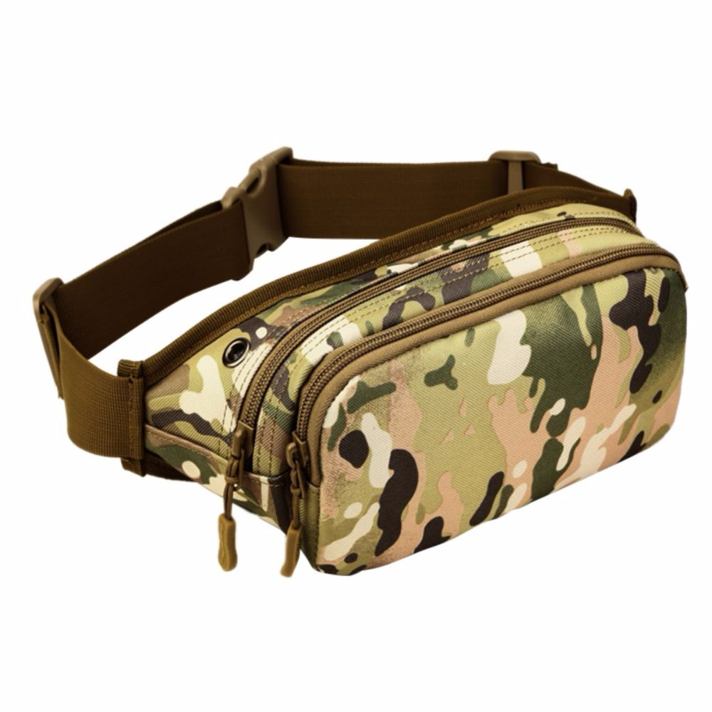 Protector Plus Morning Exercise Running Cycling Outdoor Climbing Military Tactical Rucksacks Sport Camping Hiking Waist Bag New