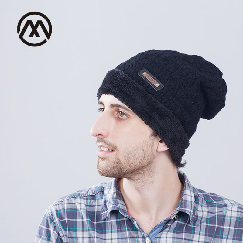 Brand Beanies Knit Men's Winter Hat Caps Skullies Bonnet Winter Hats For Men Women Beanie Fur Warm Baggy tocas Wool Knitted Hat aetrue skullies beanies men knitted hat winter hats for men women bonnet fashion caps warm baggy soft brand cap beanie men s hat