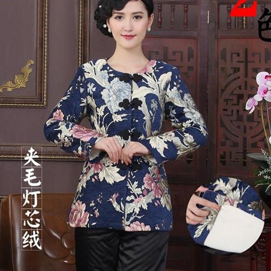 Que De M L Multicolore Tradition Femmes Xxl Veste Chaude Survêtement Tang Costume Pense 2 Vente 3xl Chinois Vestes Xl 4xl Manteaux lFc1TKJ