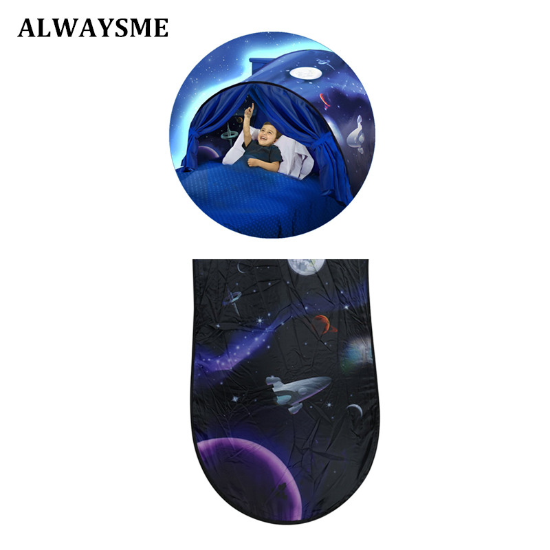 Alwaysme Baby Children Crib Bed Magical Dream Tent Space