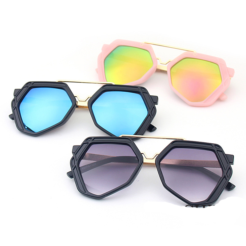 Shop For Cheap Design Metal Frame Kids Sunglasses Girls Boys Gasses Eyewear Children Sun Glasses Eyeglasses Uv400 #270910 Boy's Glasses Apparel Accessories