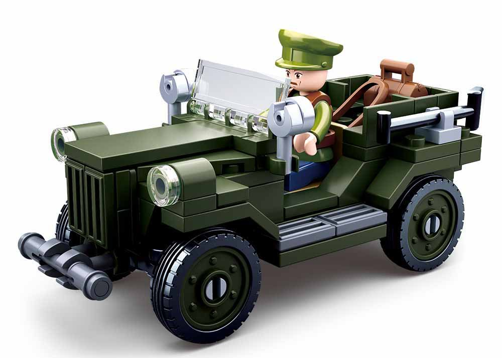 <font><b>0682</b></font> compatible Military Tank world war ii German Army figures troops Building Blocks Bricks Helicopter Model Toys 112 image