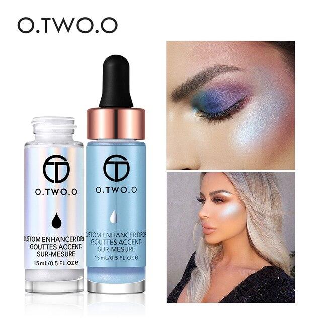 O. DEUX. O Liquide Surligneur Maquillage Amorce Shimmer Éclat Visage Ultra-concentré éclairante bronzage gouttes Visage Maquillage 1