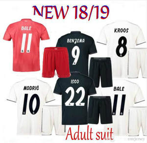 c9f0a126a 2019 Realed Madrided Adult Home Away BALE Man suit Shirt