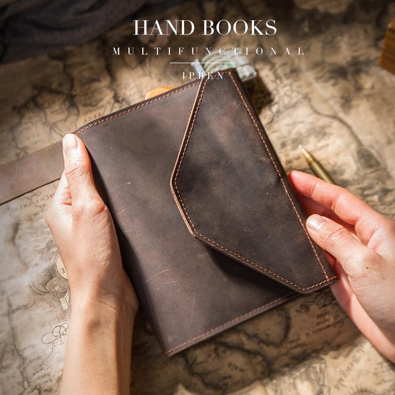 Traveler โน้ตบุ๊ควางแผนสร้างสรรค์ agenda กระเป๋า Travel Journal ไดอารี่ Handmade มัลติฟังก์ชั่ A5 A6 Notepads ของขวัญ 2019-ใน สมุด จาก อุปกรณ์ออฟฟิศและการเรียน บน   2