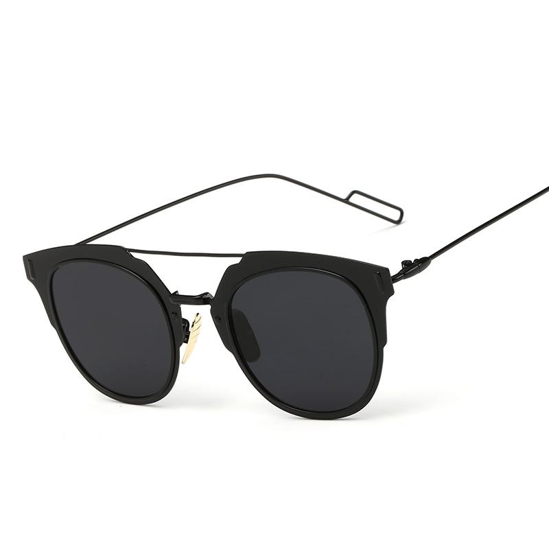 eade5dbe85 polarizadas moda sol 2018 metálico mujerhombre Gafas de marco 65w5fq48