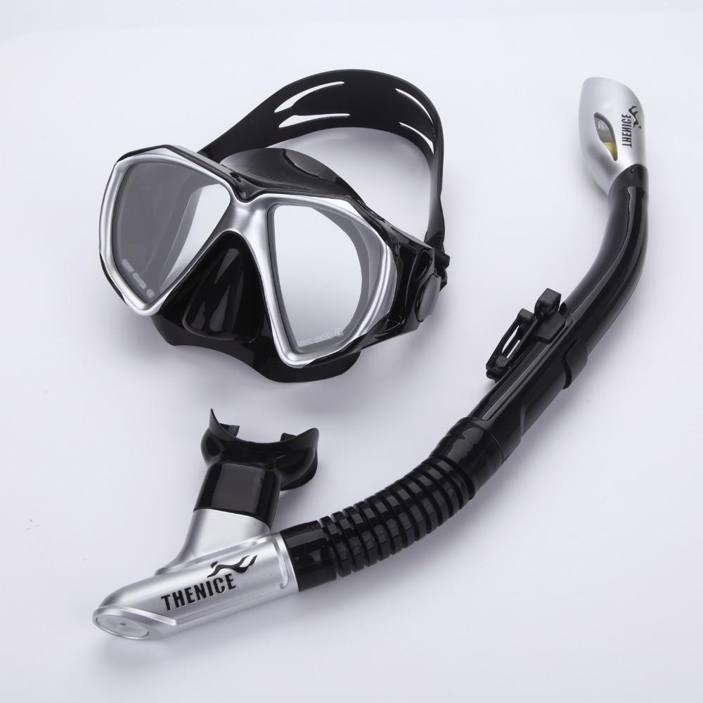 Syze të papërshkueshme nga uji Anti-mjegull snorkel Daskë maskë - Sporte ujore