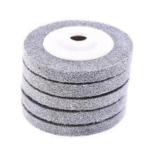 цена на 5Pc Nylon Fiber Polishing Wheel 100x12x16Mm Grinding Machine Polishing Wheel Abrasive Tools