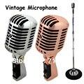 Бесплатная доставка профессиональный вокальный микрофон серебряный KTV микрофон,классический динамический микрофон Z6