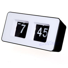 Retro Classical Auto Flip Clock