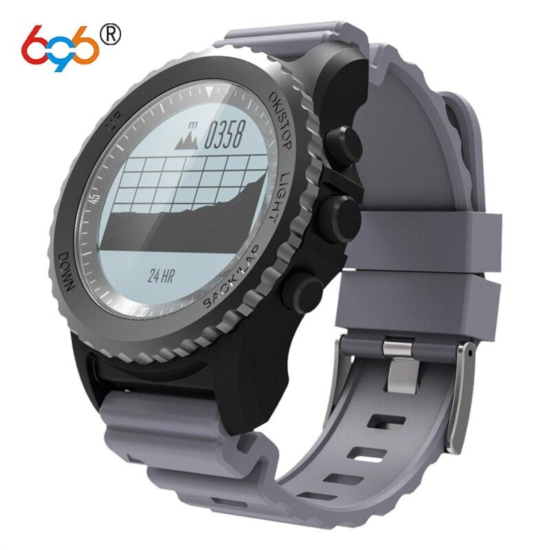 696 S968 Спорт Bluetooth Смарт часы Для мужчин IP68 Водонепроницаемый Носимых устройств сна