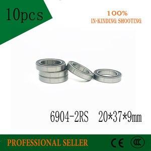 Image 3 - 6904 2RS ABEC 5 تحمل 10 قطعة 20x37x9mm رقيقة القسم 6904 2RS الكرات 6904RS 61904 RS