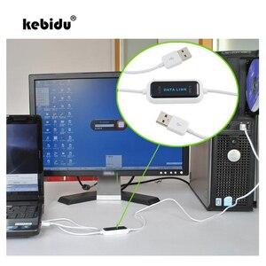 Kebidu-pantalla LED de alta velocidad para PC, Cable de enlace de datos para PC, 165CM, sincronización de datos directa, transferencia de archivos de red, copia fácil, 1 Uds.