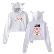 BTS Short Hoodie With Ears (35 Models)