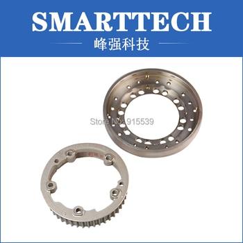 Precision aluminum CNC milling service , models of metal punch process