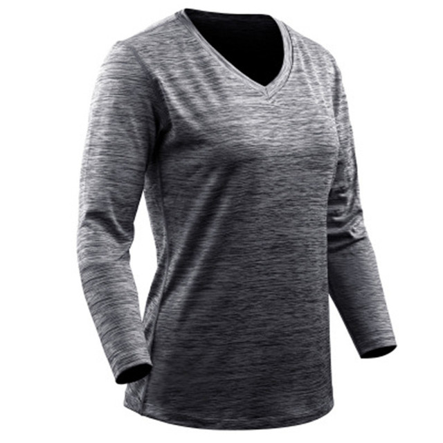 Sportswear Quick Drying Elastic Long Sleeve Fitness Gym Running Shirt Plus Size  S-3XL  7 colors
