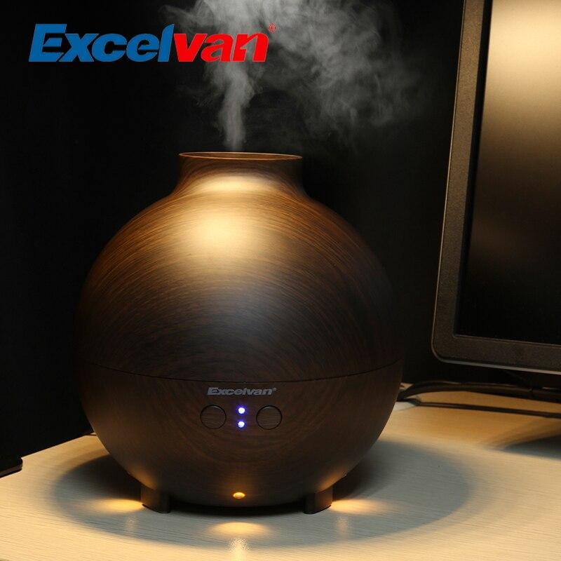 Excelvan 500ml Essential Oil Aroma Diffuser Ultrasonic