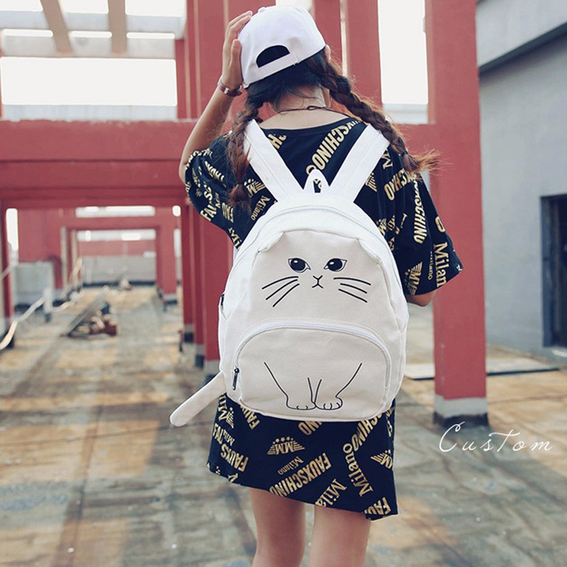 osmond gato adorável backpack para Tipo de Estampa : 3D Cat