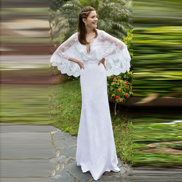Country Wedding Dresses Simple Formal