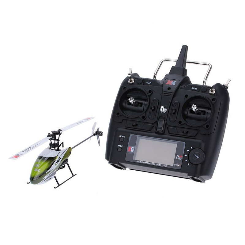 XK K100 Falcom 6CH Flybarless 3D 6G System RC Helicopter Compatible with FUTABA S-FHSS RTF original xk k124 bnf without tranmitter ec145 6ch brushless motor 3d 6g system rc helicopter compatible with futaba s fhss