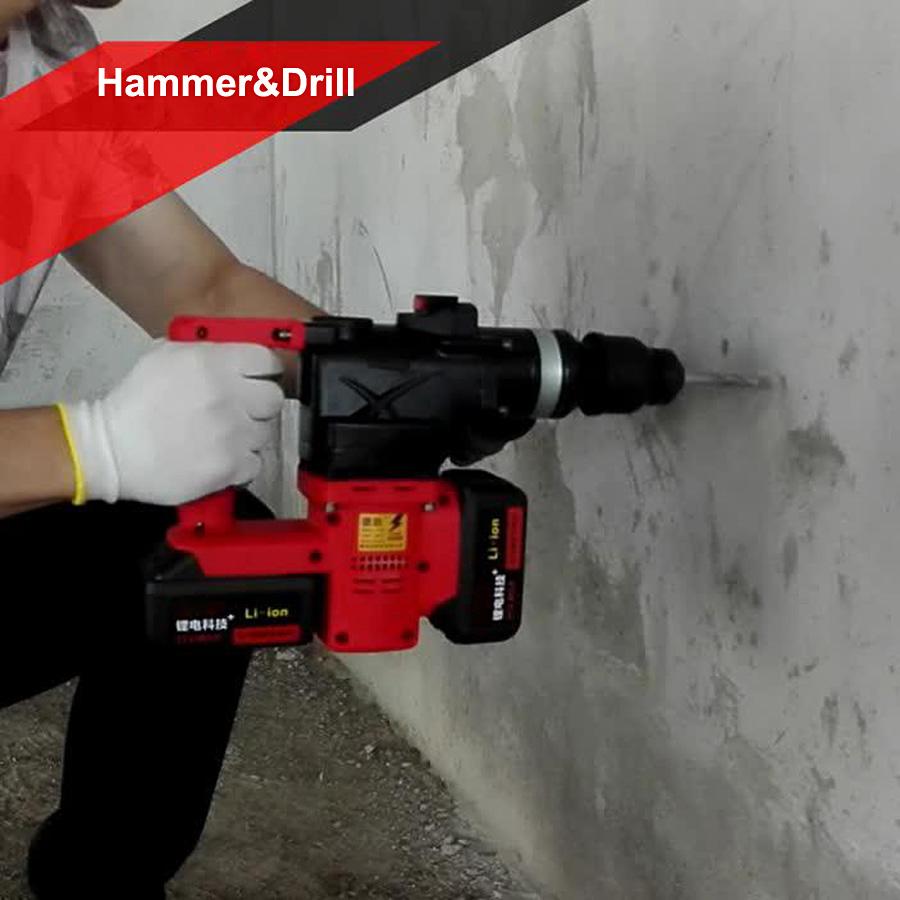 HTB1reoyaRcHL1JjSZJiq6AKcpXa3 - 15000 25000mAh Heavy Industrial Wall Hammer Cordless Drill Rechargeable Samsung Lithium Battery Electric Hammer Impact Drill