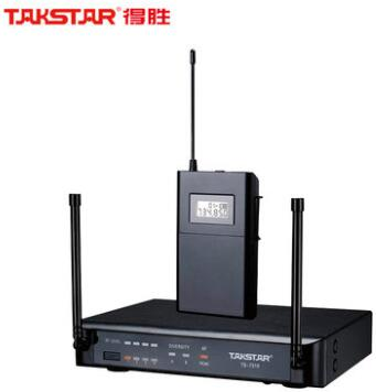 Hot selling 100 Original Takstar TS 7310P UHF Wireless Microphone System 200 Channels Operating range up