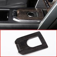 Новые древесины дуба Стиль Шестерни Цельнокройное Панель украшения наклейки для Land Rover Discovery Спорт 2015-2017 автомобильные аксессуары