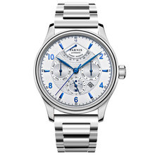 41mm Parnis black dial Sapphire glass SS Case Luxury Brand Date Steel 21 jewel Miyota automatic Mechanical men's watch все цены