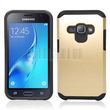 Dual Layer TPU+PC Shockproof Slim Armor Hybrid Impact Case Cover With Film+Stylus For Samsung Galaxy J1 2016/Amp 2/Express 3
