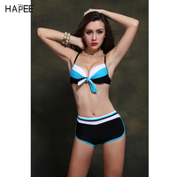 2017 Top Grade Russian flag with blue color Swimming Suit Back with strappy sexy bikini bathing suits bandage bikini